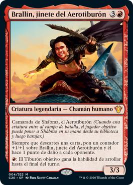Brallin, jinete del Aerotiburón