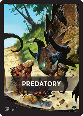 Predatory Theme Card
