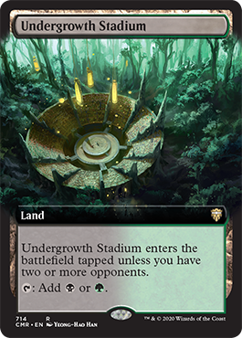 Extended-art Undergrowth Stadium