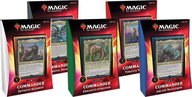 Ikoria Commander decks