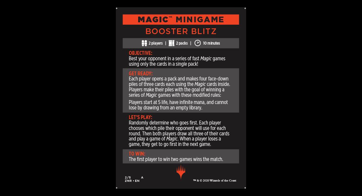 Booster Blitz
