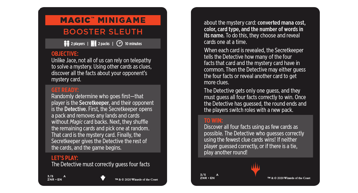 Booster Sleuth