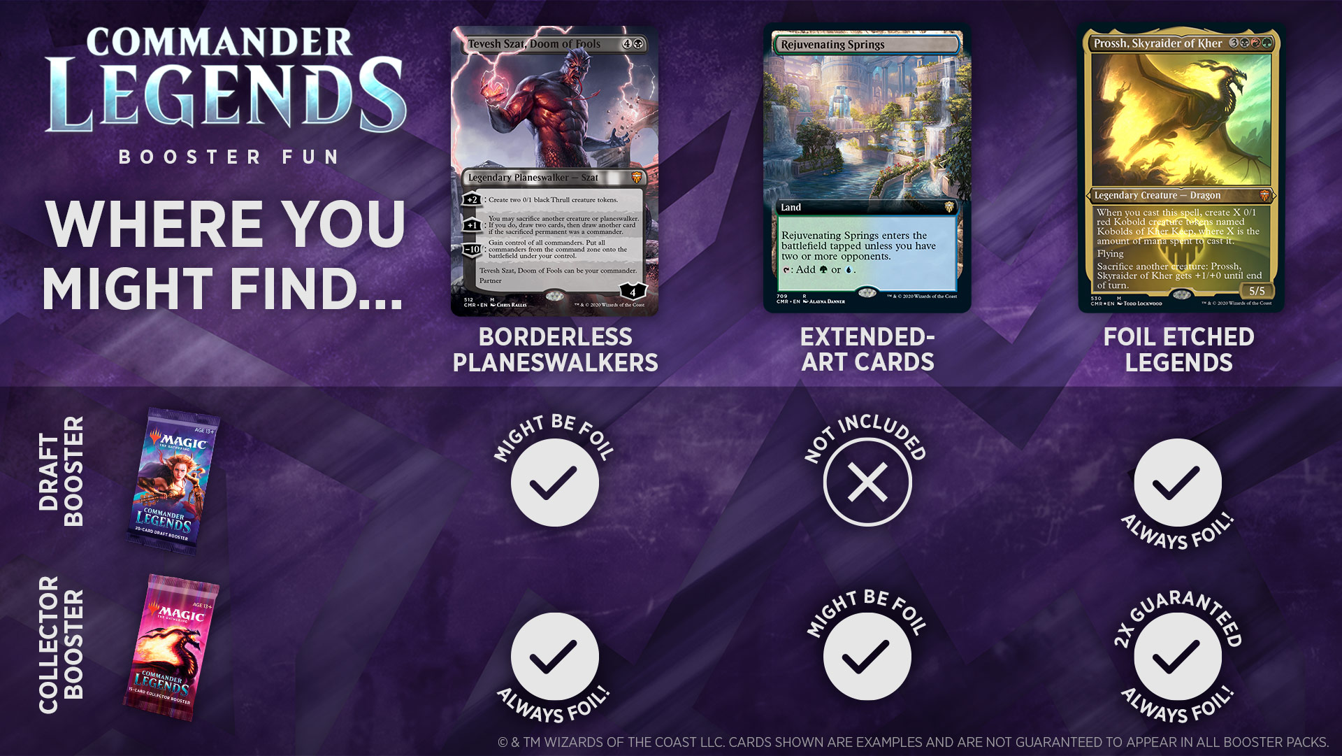 CMR Collector Boosters