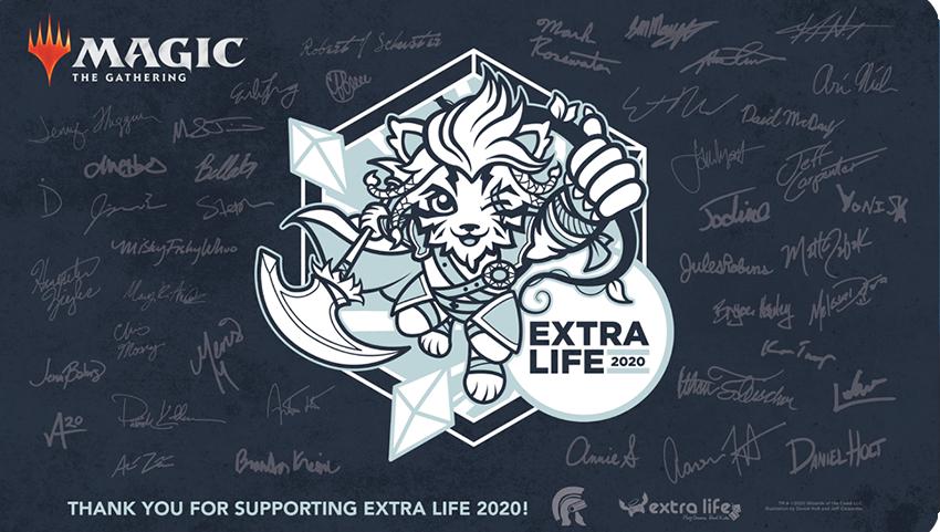 Extra Life 2020 Playmat