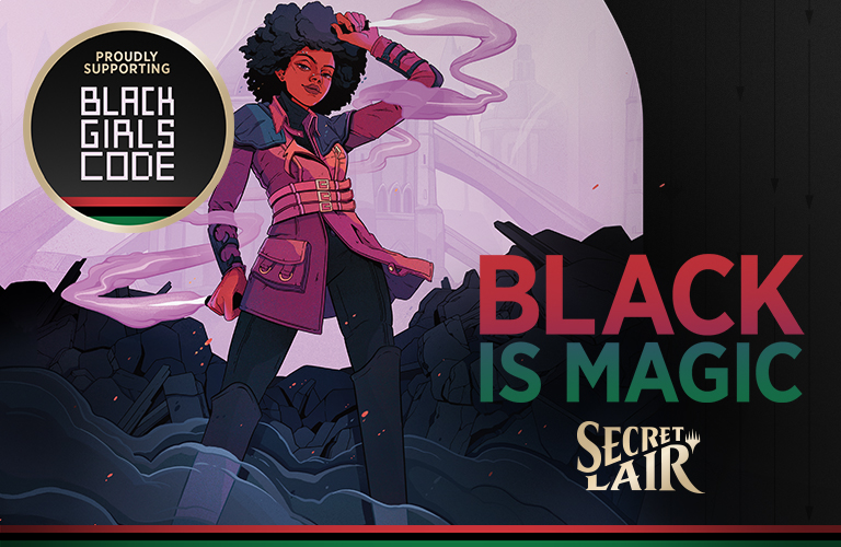Black Is Magic Kaya banner