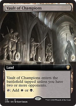 Extended-art Vault of Champions