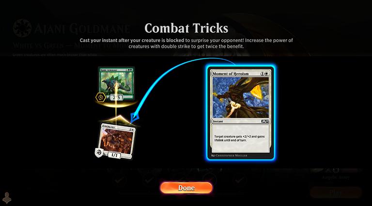 Combat Tricks