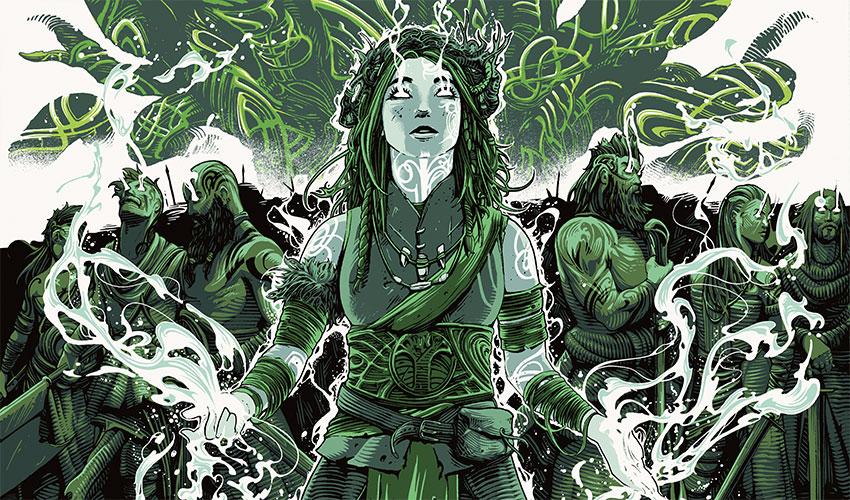 Esika, God of the Tree