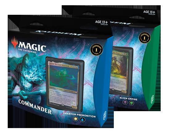 KHM Commander decks