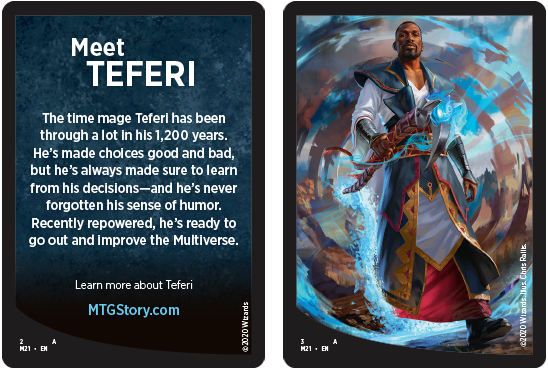 Niv-Mizzet, Parun. Meet Teferi beacon card.