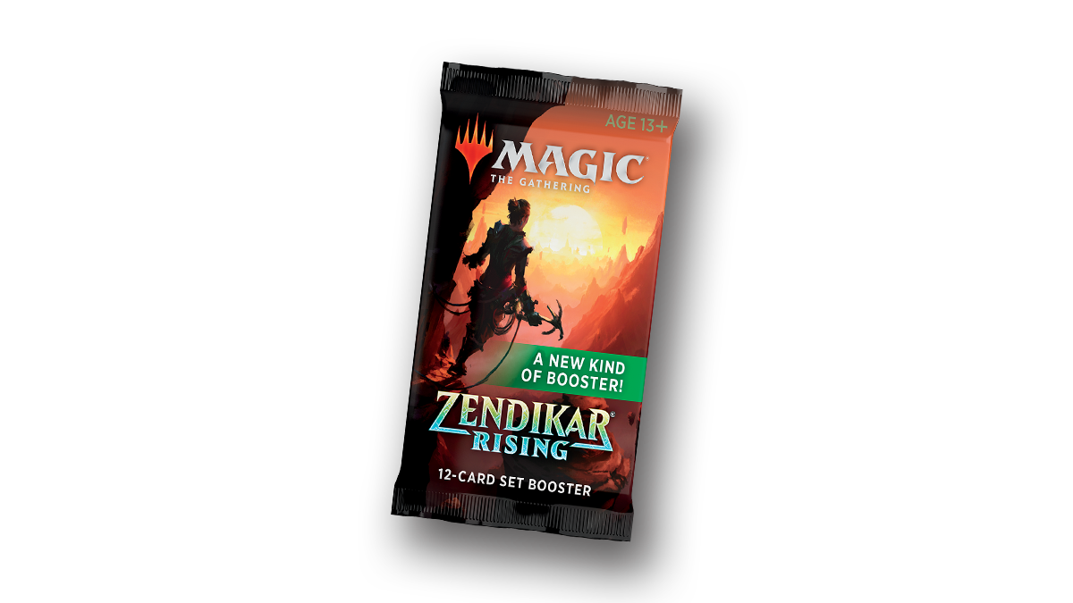 Zendikar Rising Set Booster image