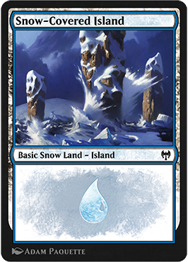 Arena Snow Basic Land