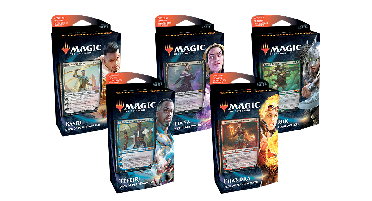 Decks de planeswalker Édition de base 2021