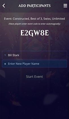 HTO event Code