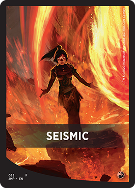 Seismic Theme Card
