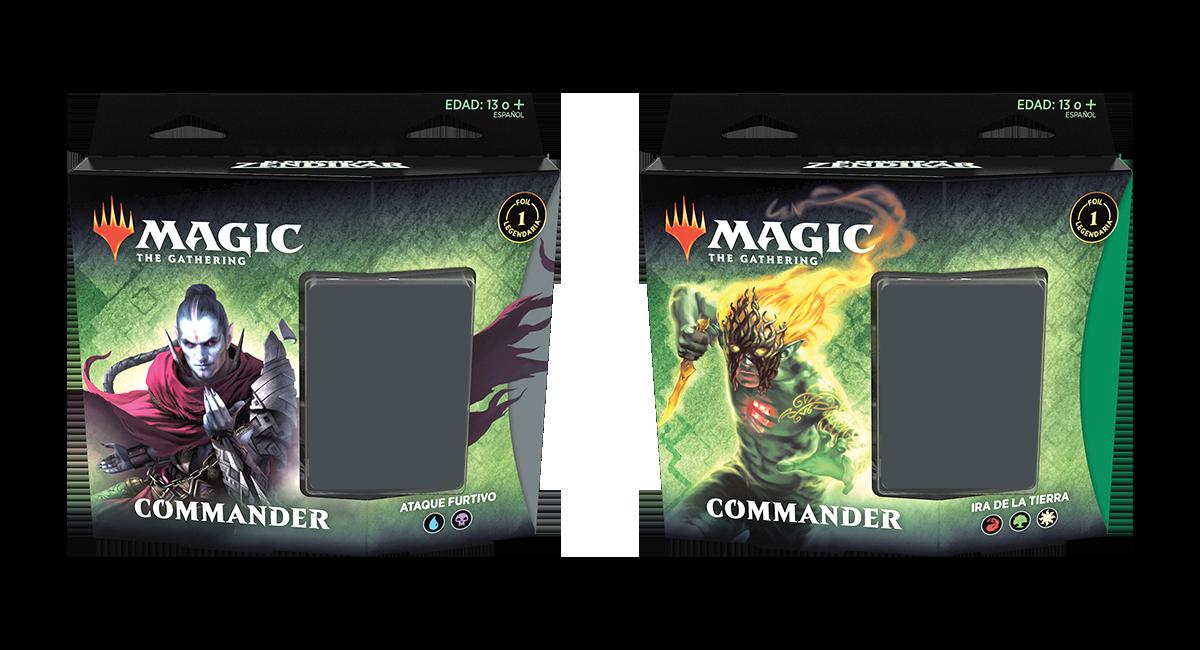 Commander decks