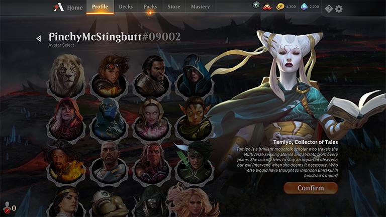 MTGA MTG Arena Code FNM Home Promo Pack SEP 4 Tamiyo Avatar Dragon Pet Possible