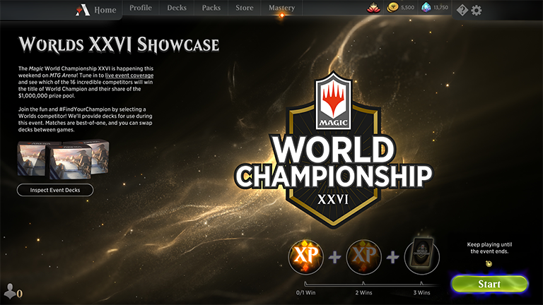 Worlds Showcase