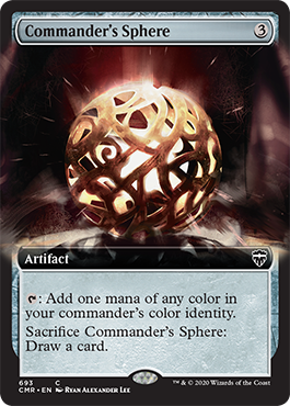 Extended-art Commander's Sphere