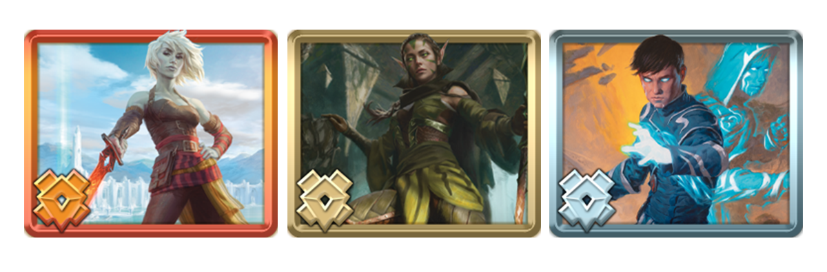 Jace, Nissa, and Nahiri avatars