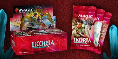 MTG: Ikoria: Lair of Behemoths Booster -  Wizards of the Coast