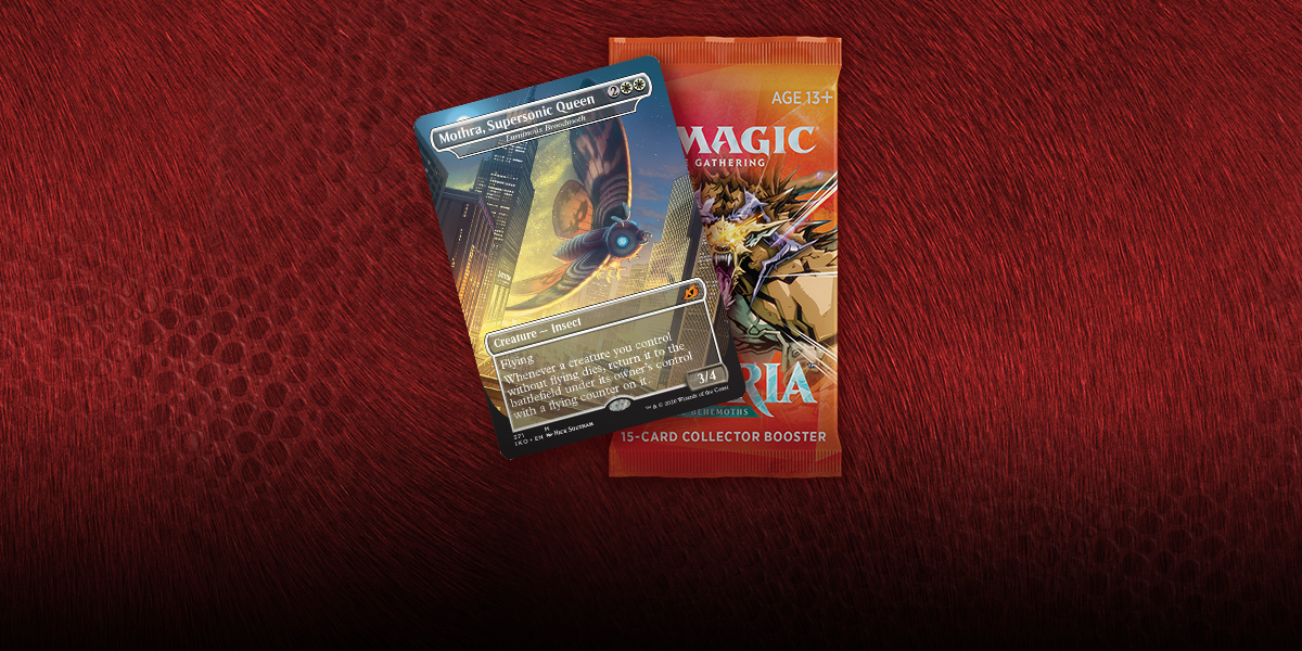 MTG: Ikoria: Lair of Behemoths Collector Booster (T.O.S.) -  Wizards of the Coast