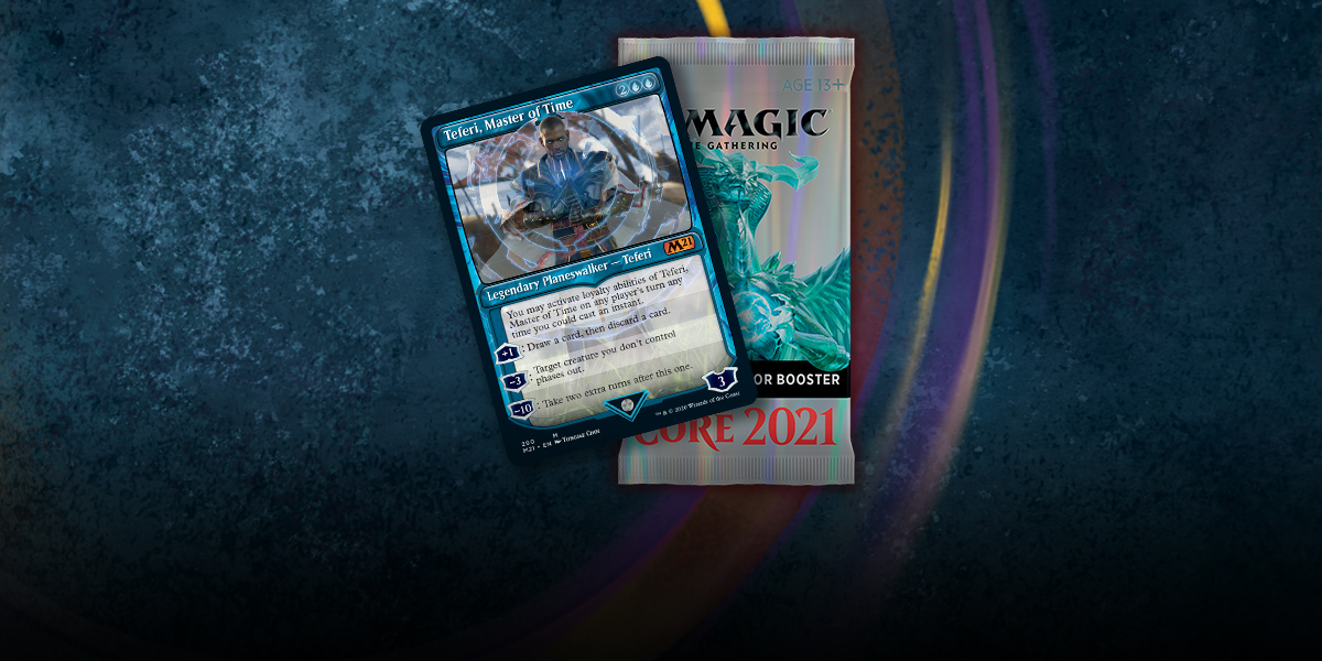 MTG: Core Set 2021 Collector Booster -  Wizards of the Coast