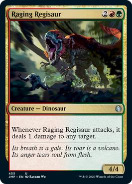 Raging Regisaur
