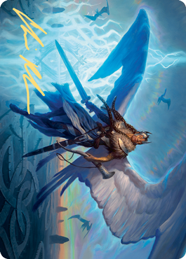 Righteous Valkyrie Art Card