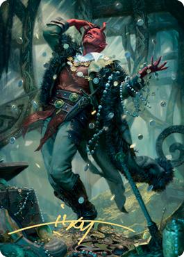Tibalt, Cosmic Imposter Art Card