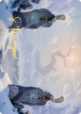 Snow-Covered Plains Art Card