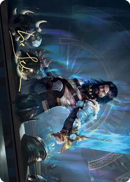 Halvar, God of Battle Art Card