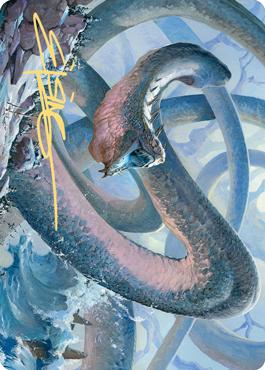 Koma, Cosmos Serpent 1 Art Card