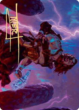 Toralf, God of Fury Art Card
