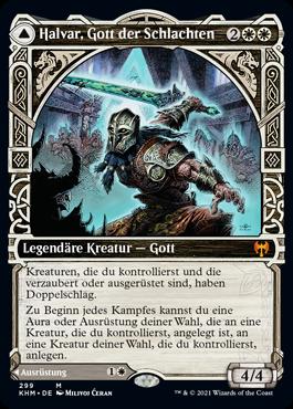 Halvar, Gott der Schlachten