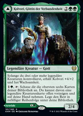 Kolvori, Göttin der Verbundenheit