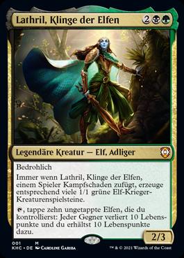 Lathril, Klinge der Elfen