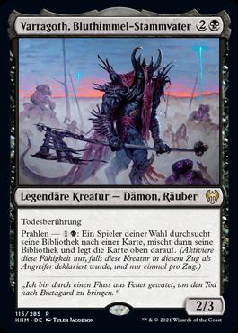Varragoth, Bluthimmel-Stammvater