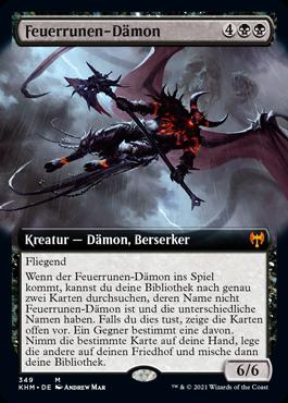 Feuerrunen-Dämon