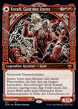 Toralf, Gott des Zorns