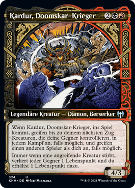 Kardur, Doomskar-Krieger