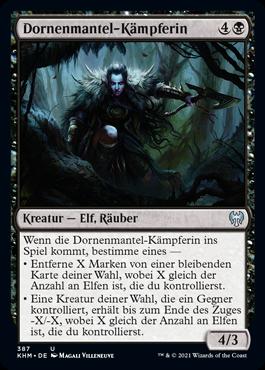 Dornenmantel-Kämpferin