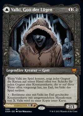 Valki, Gott der Lügen