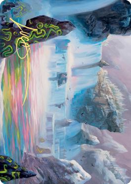 Glittering Frost Art Card