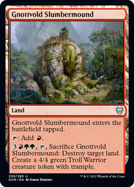 Gnottvold Slumbermound