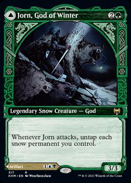 Showcase Jorn, God of Winter