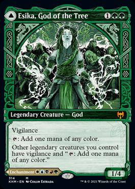 Showcase Esika, God of the Tree