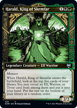 Showcase Harald, King of Skemfar