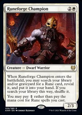 Runeforge Champion