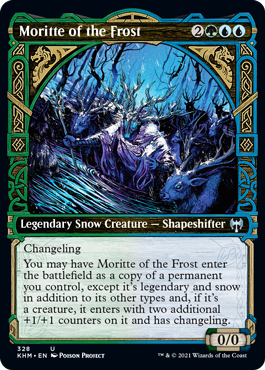 Showcase Moritte of the Frost